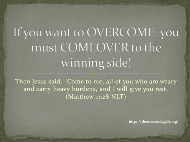 Overcome-overcominglife