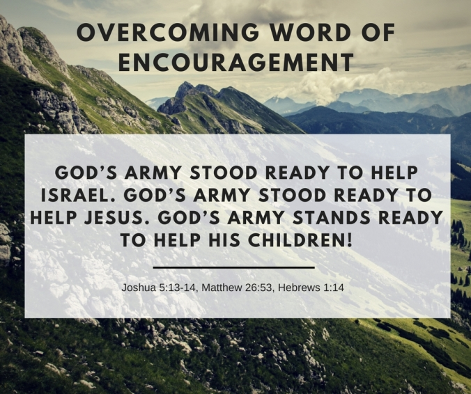 Overcoming Word of Encouragement